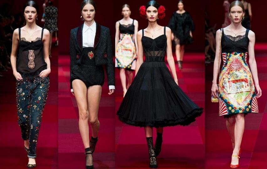 Dolce & Gabbana em Milão - Verão 2015 - Cris Vallias Blog 5