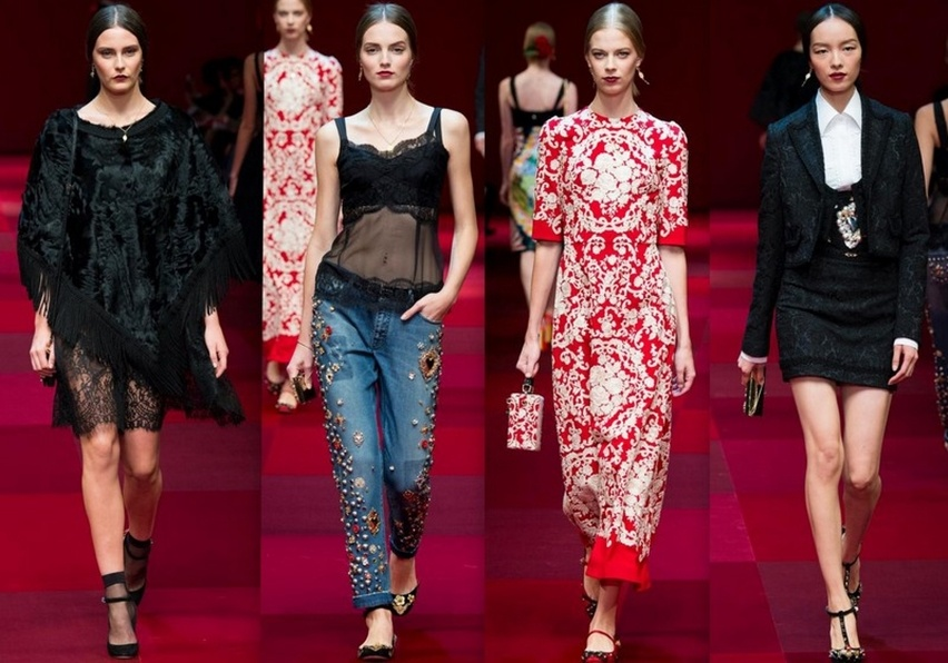 Dolce & Gabbana em Milão - Verão 2015 - Cris Vallias Blog 6