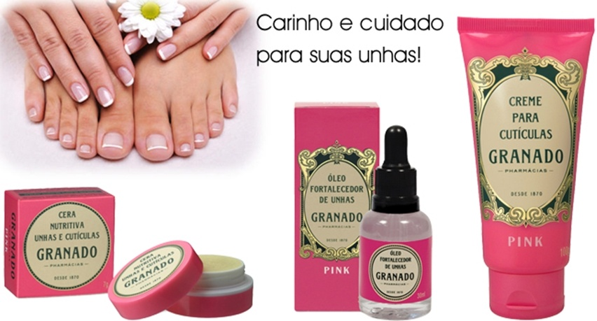 Kit Granado de cuidado com as unhas - cris vallias blog