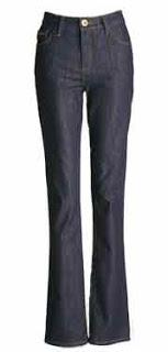 1 - calça jeans de cintura alta