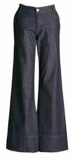 12 - calça jeans flare