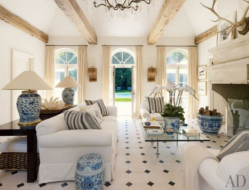 Décor da casa de Ralph Lauren - Cris Vallias Blog 11