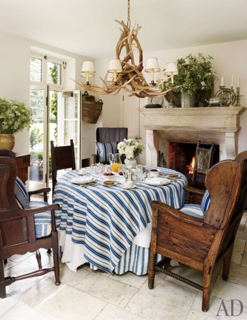 Décor da casa de Ralph Lauren - Cris Vallias Blog 12