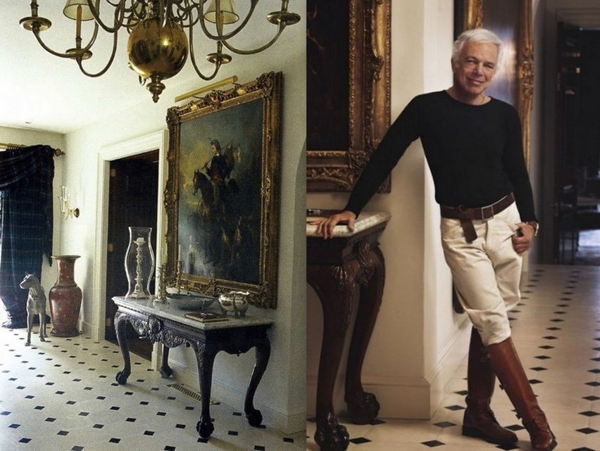 Décor da casa de Ralph Lauren - Cris Vallias Blog 15