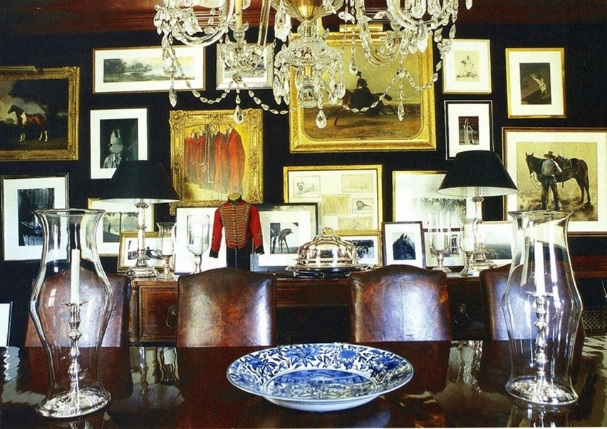 Décor da casa de Ralph Lauren - Cris Vallias Blog 6