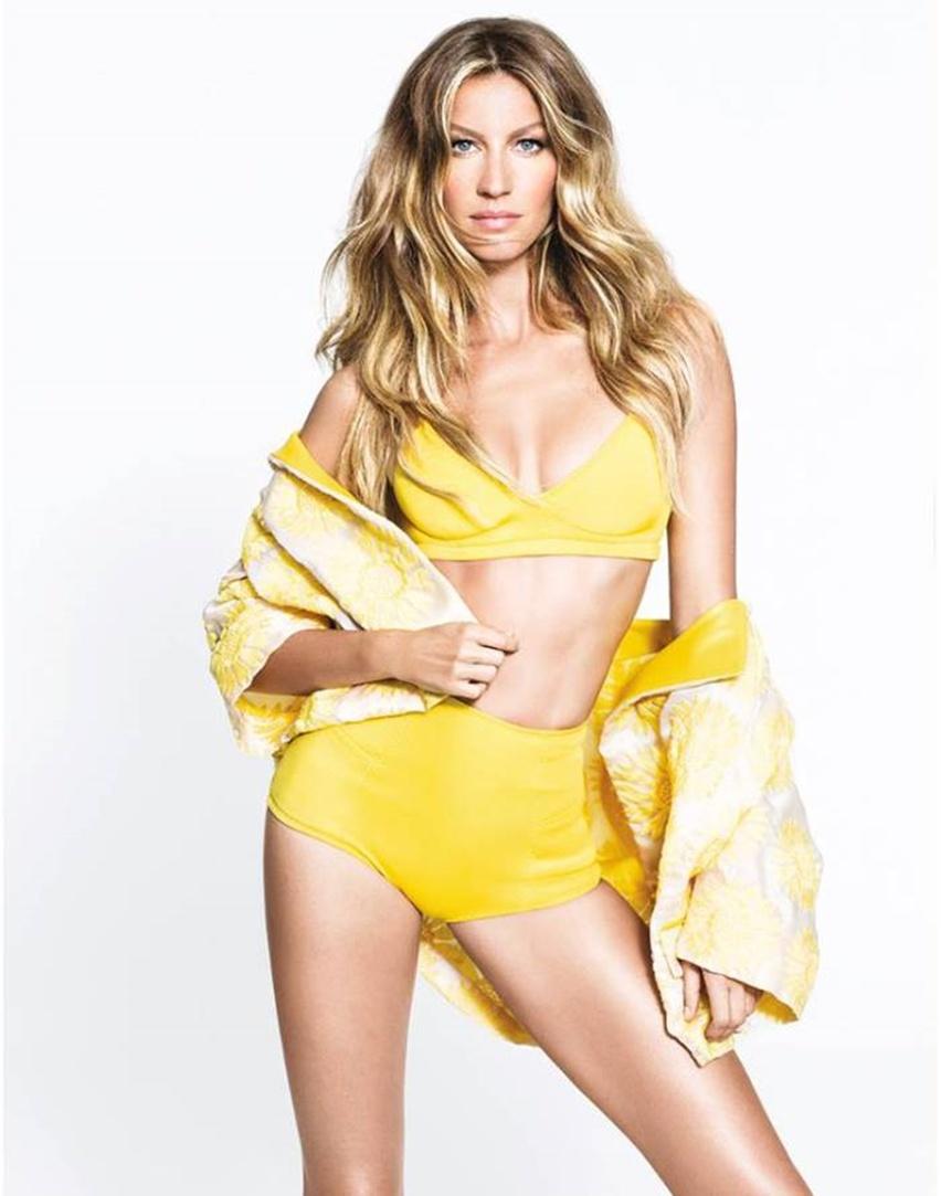 Elle Brasil Novembro 2014 - Gisele Bündchen por Nino Muñoz - Cris Vallias Blog 2