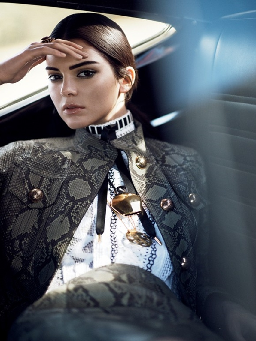 Kendall Jenner para Vogue US janeiro 2015 - cris vallias blog 6