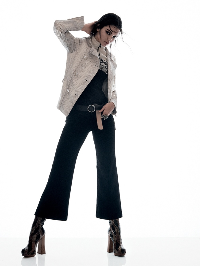 Kendall Jenner para Vogue US janeiro 2015 - cris vallias blog 7
