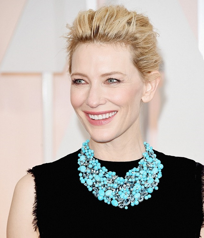 Colar Tiffany da Cate Blanchett no Oscar 2015 - Cris Vallias Blog