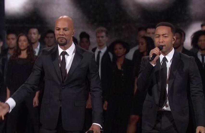Common e John Legend homenagearem Martin Luther King oscar 2015