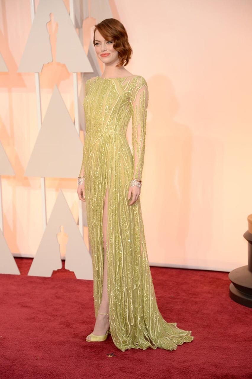 Emma Stone Oscar 2015 - Cris Vallias Blog 2