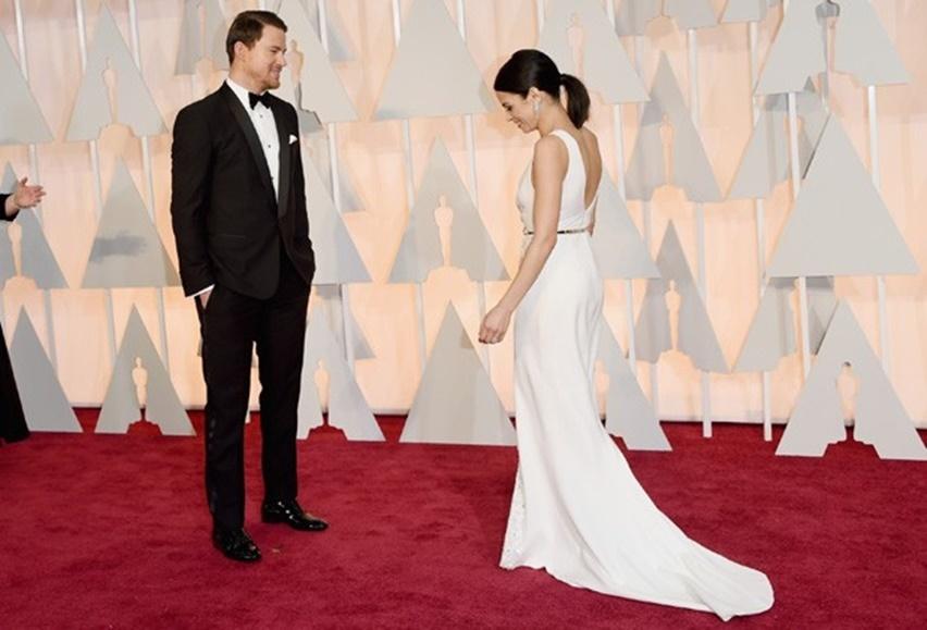 Jenna Dewan Tatum Oscar 2015 - Cris Vallias Blog 2