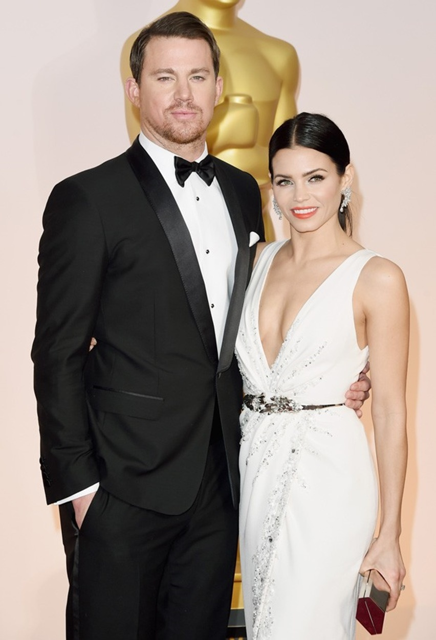 Jenna Dewan Tatum Oscar 2015 - Cris Vallias Blog 3