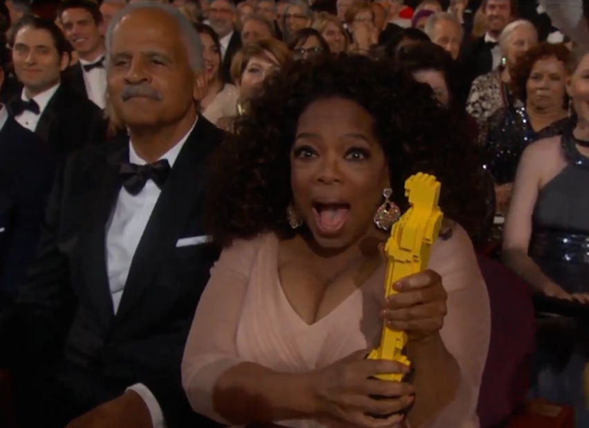 LEGO Oscar - Oscar 2015