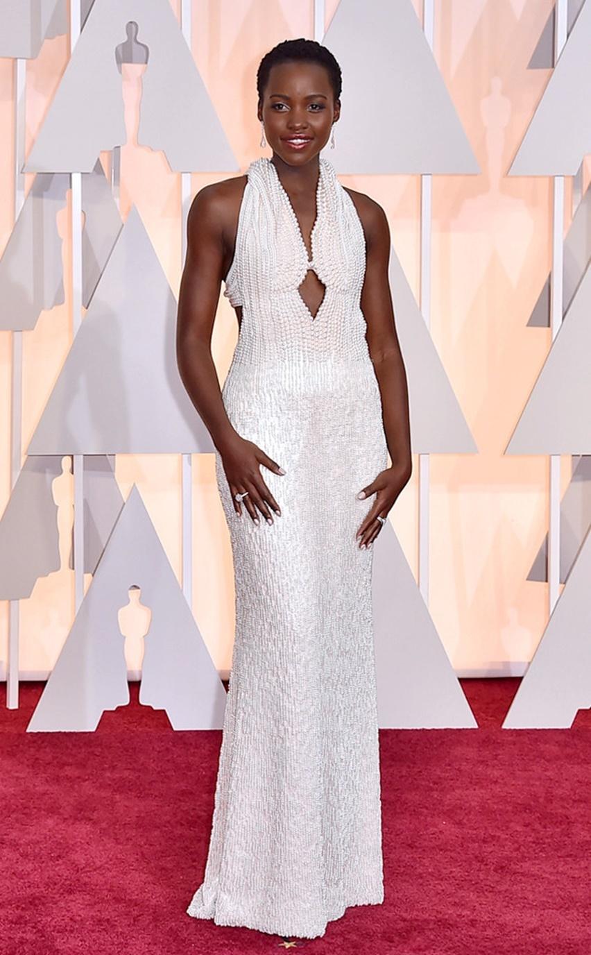 Lupita Nyong'o Oscar 2015 - cris vallias blog 2