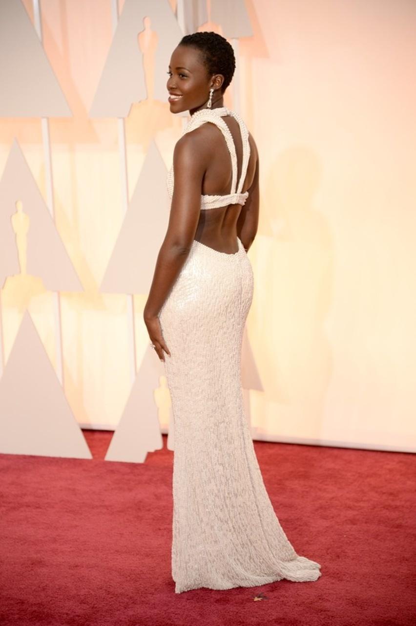Lupita Nyong'o Oscar 2015 - cris vallias blog 3
