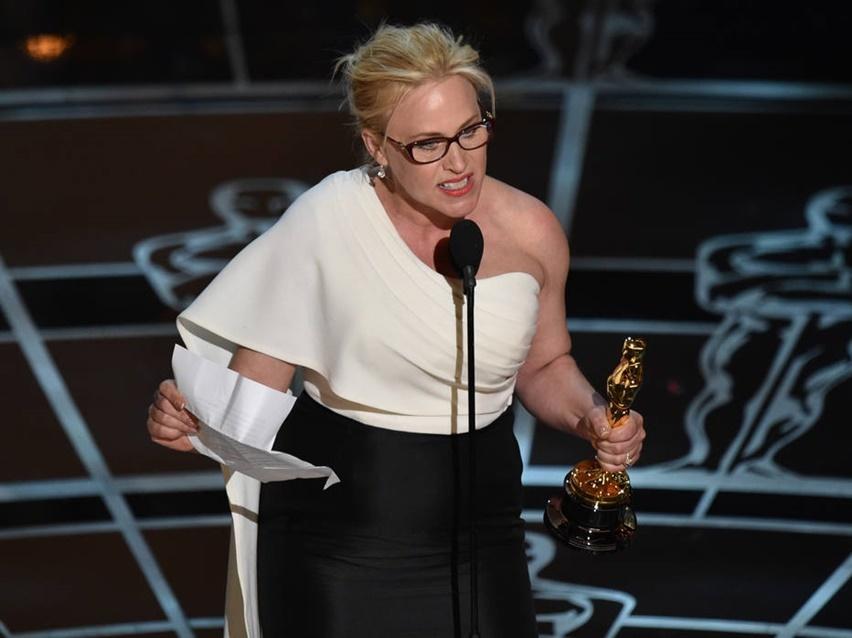 Patricia Arquette oscar 2015 discurso