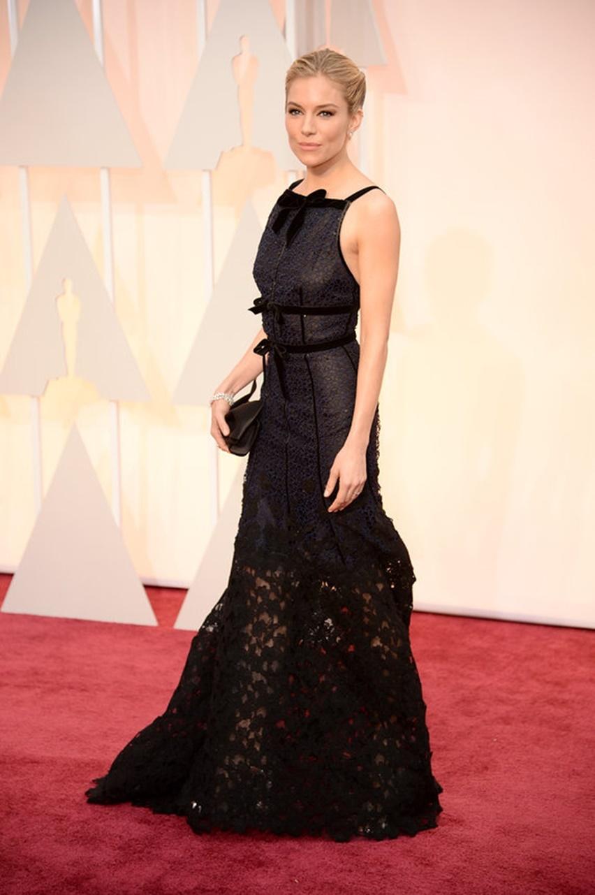 Sienna Miller Oscar 2015 - Cris Vallias Blog 1