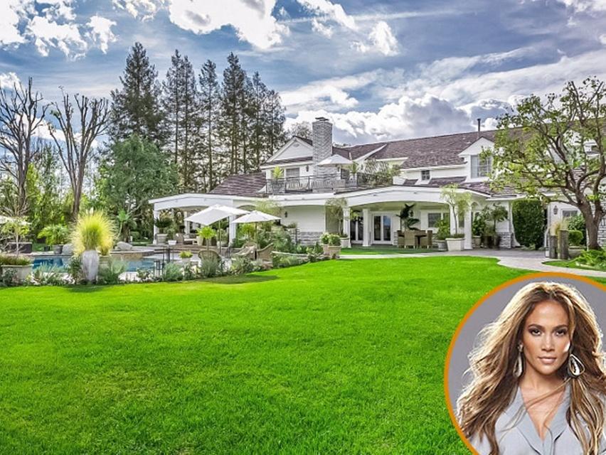 decoração casa Jennifer Lopez - cris vallias blog 1