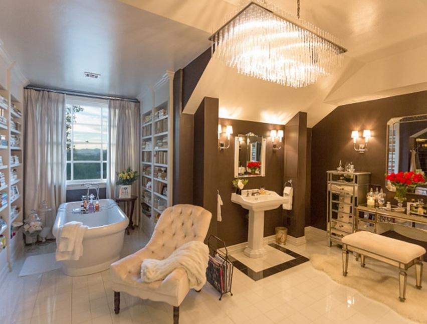 decoração casa Jennifer Lopez - cris vallias blog 25