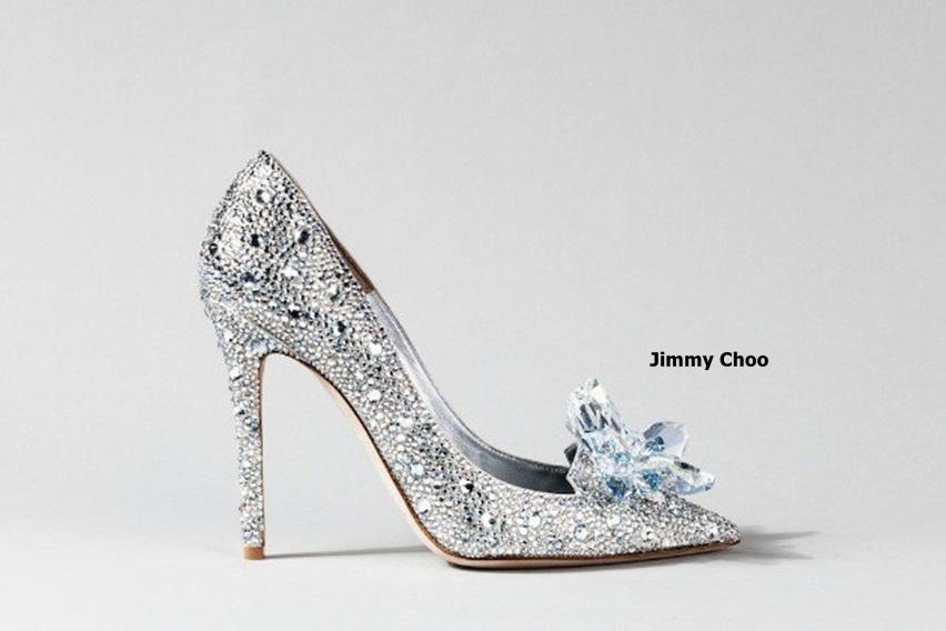 sapatinho de cristal - cinderela shoe - by Jimmy Choo - cris vallias blog