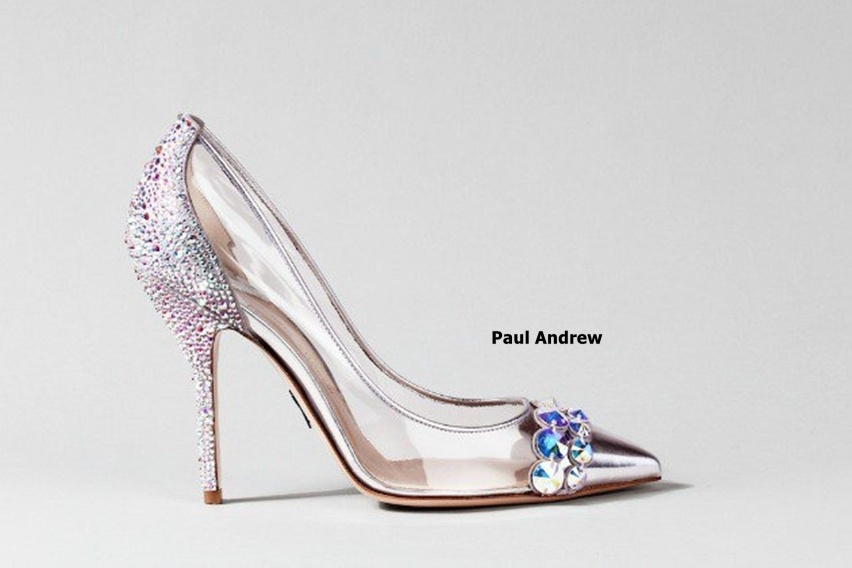sapatinho de cristal - cinderela shoe - by Paul Andrew - cris vallias blog