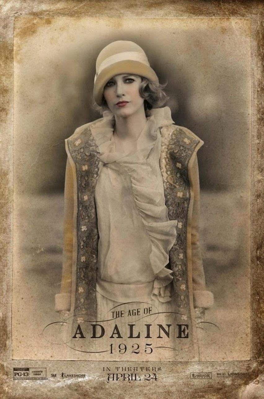sobre o filme The Age of Adaline com Blake Lively - cris vallias blog 8
