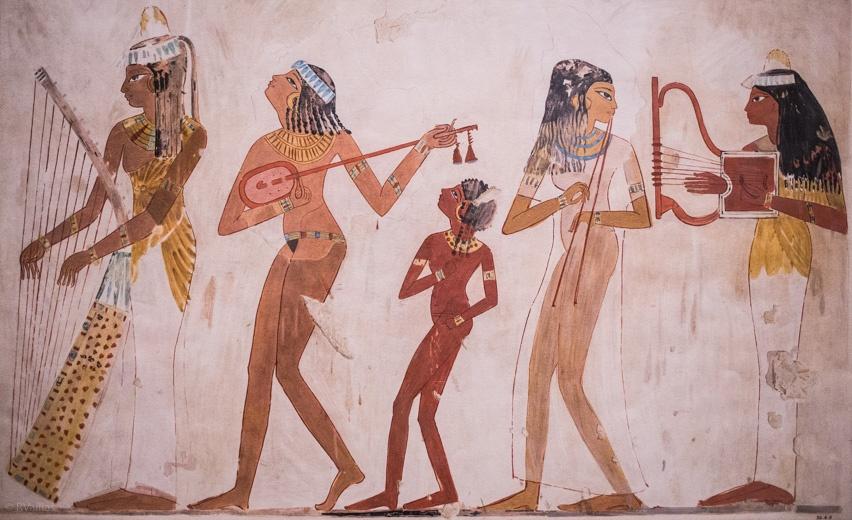 egito antigo metropolitam museu papiro desenho