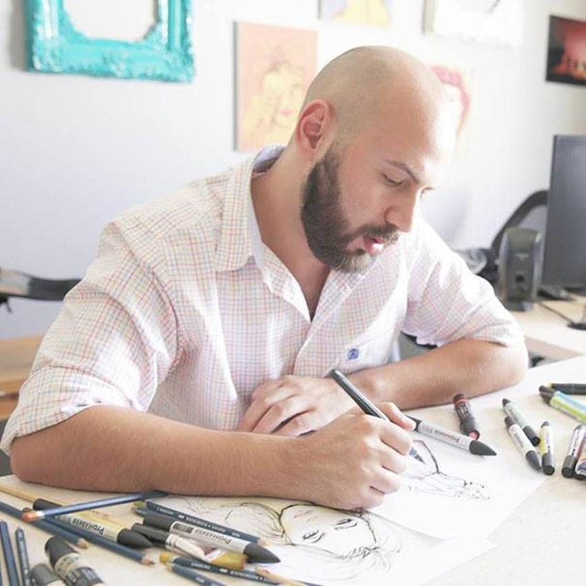 Shamekh Bluwi - Ilustração de Moda e Arquitetura - Cris Vallias Blog 0
