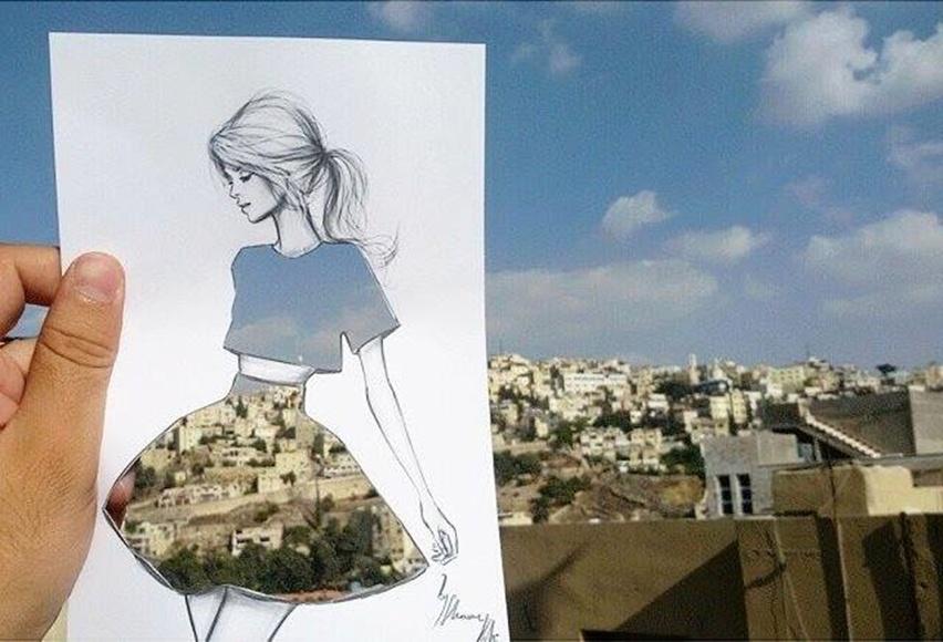 Shamekh Bluwi - Ilustração de Moda e Arquitetura - Cris Vallias Blog 2