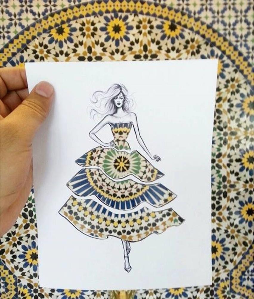 Shamekh Bluwi - Ilustração de Moda e Arquitetura - Cris Vallias Blog 4