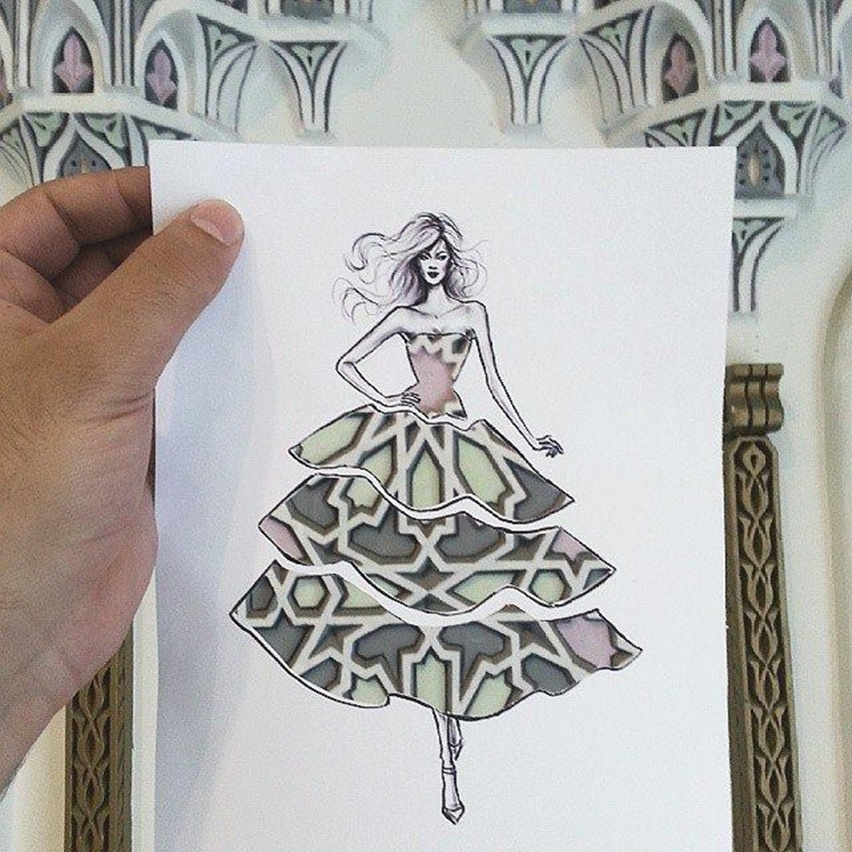 Shamekh Bluwi - Ilustração de Moda e Arquitetura - Cris Vallias Blog 5