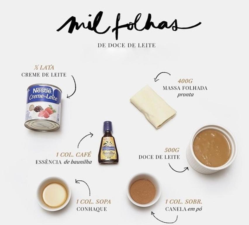 receita de mil folhas de doce de leite - cris vallias blog 2
