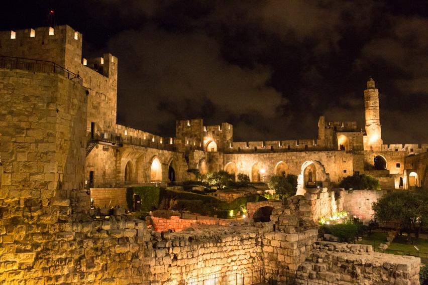 cores em jerusalem
