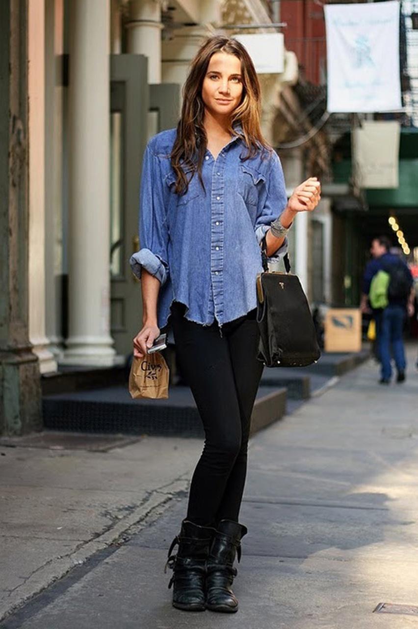 look inspiração com camisa - cris vallias blog 7