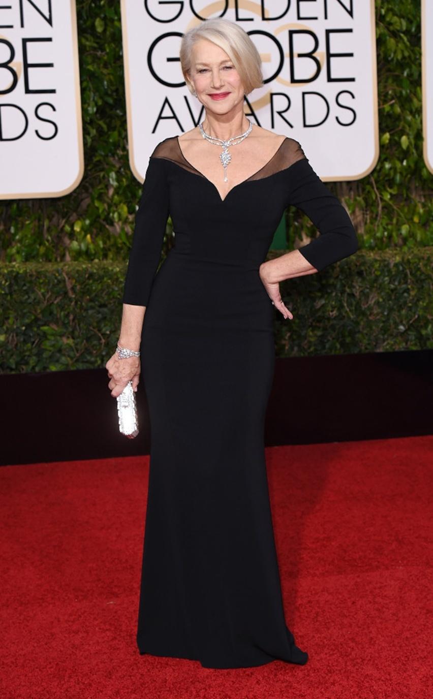 Globo de Ouro 2016 - Helen Mirren